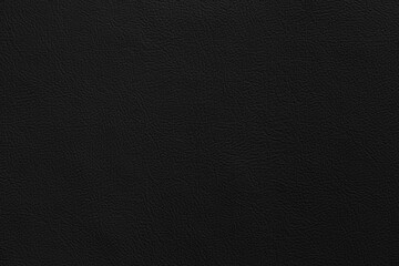 Black genuine cow leather of the sofa texture and background seamless
