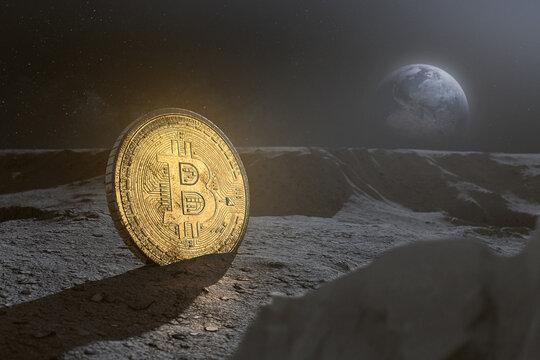 Bitcoin on the moon