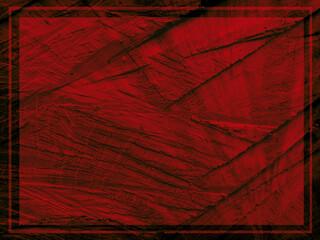 Czerwone drewniane tło z ciemną ramką