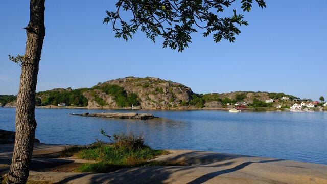 Norway coast near Havna, Vestfold, Norway