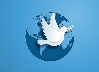 Fototapeta International Peace Day. obraz