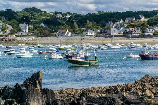 Lannion, commune française située dans le département des Côtes-d'Armor en région Bretagne.
