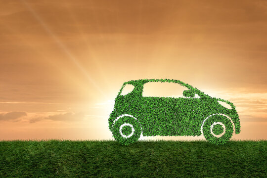 Concept of ecological electric car