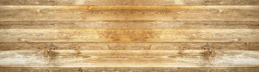 old brown rustic light bright wooden texture - wood background panorama banner long..