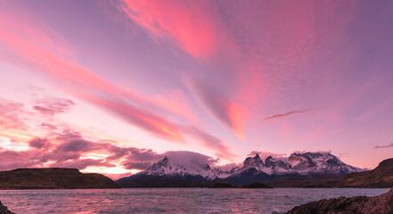 Amazing sky image. Beautiful sunrise and sunset image. Sky background picture.