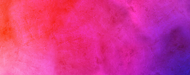 bright hot pink watercolor and soft peach orange and beige colors on old crumpled paper texture design, elegant watercolor paint
