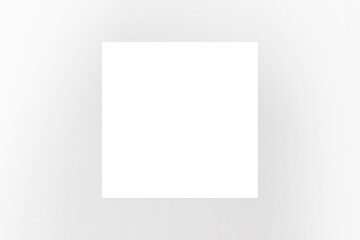 Wirtualna biała ramka na szarym tle