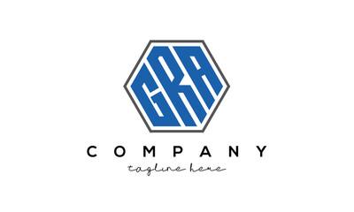 Obraz letters GRA creative polygon logo victor template - fototapety do salonu