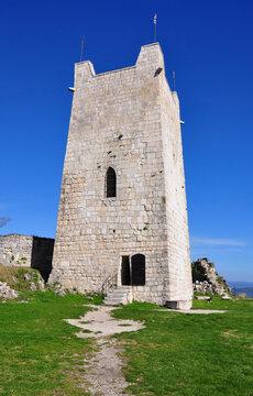 East Tower anakopia fortress. New Athos, Abkhazia