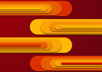 Abstrakcyjna kompozycja do projektowania grafiki, tekstu i wiadomości. Gradientowe pomarańczowe, czerwone i żółte tło dla produktów komercyjnych, biznesowych lub elektronicznych.