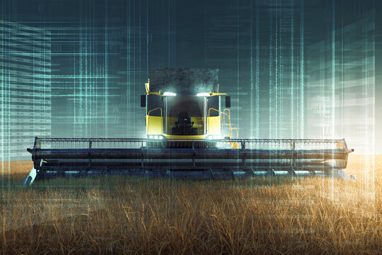 Autonomous Farming: Harvester.