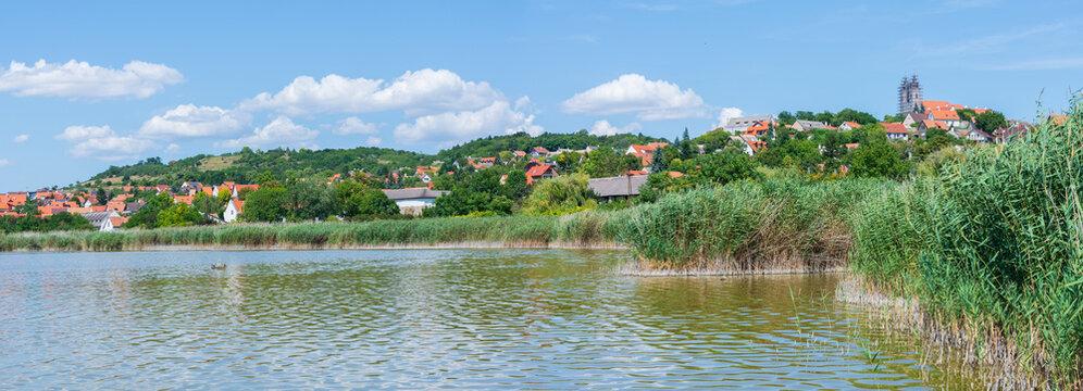 The village of Tihany at Lake Balaton in Hungary