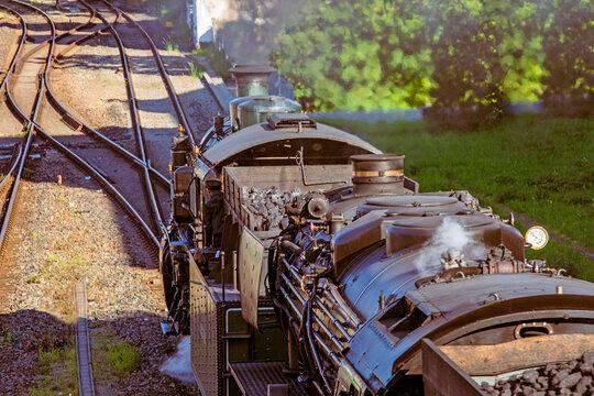 Lokomotive - Dampf - historisch - Allgäu - Immenstadt