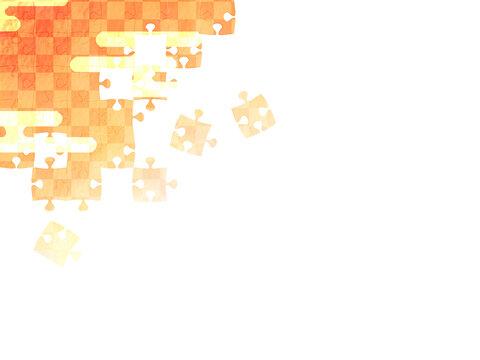 和のジグソーパズル