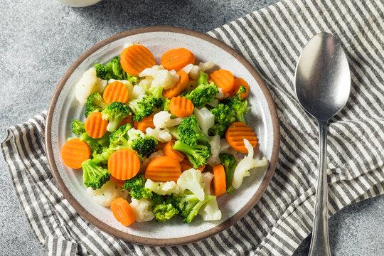 Homemade Healthy Steamed Vegetables