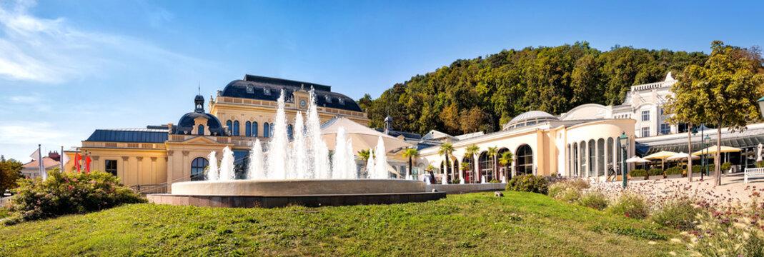 Congress centre and spa house in Baden near Vienna  (Baden bei Wien), Austria