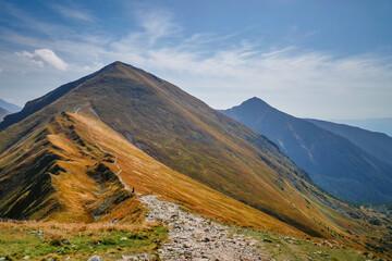 Tatry zachodnie jesienią