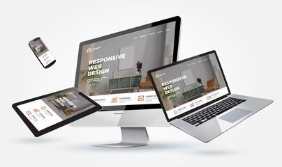 mockup webdesign