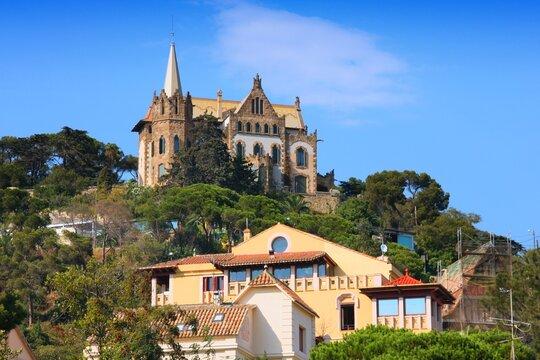 Barcelona Tibidabo hill
