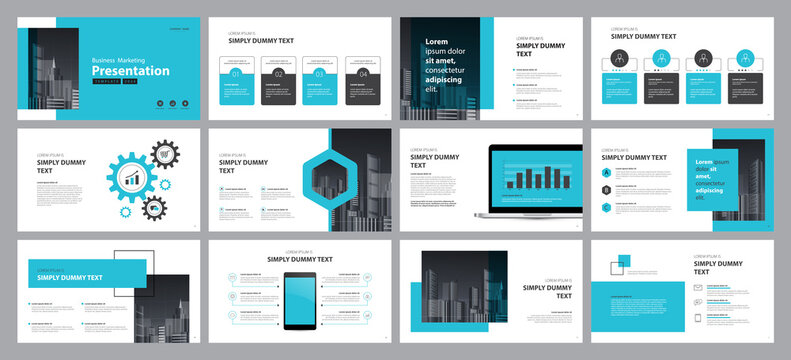 business presentation design template  backgrounds and page layout design for brochure, book, magazine, annual report and company profile, with info graphic elements graph design concept