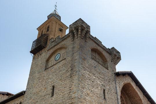 Church of San Nicolas, Pamplona, Spain