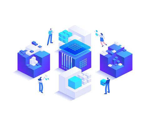 Blockchain ecosystem and digital asset exchange