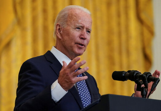 U.S. President Biden hosts labor unions event at the White House in Washington