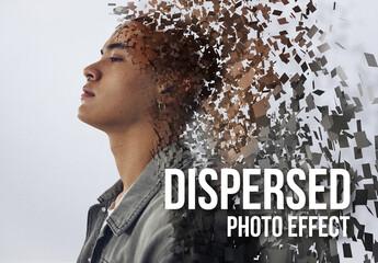 Fototapeta Dispersed Image Effect obraz