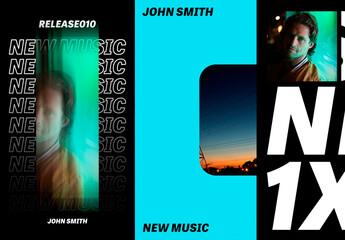 Fototapeta Music Social Set obraz