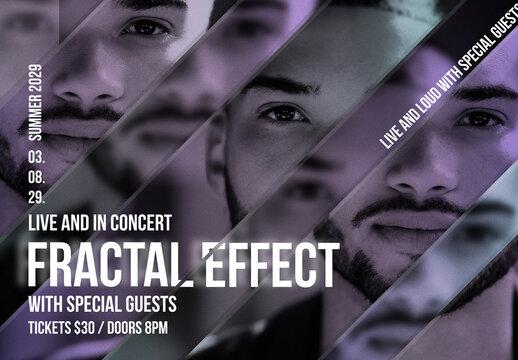 Fractal Image Effect
