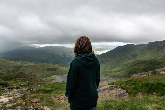 Snowdonia National Park in North Wales, UK