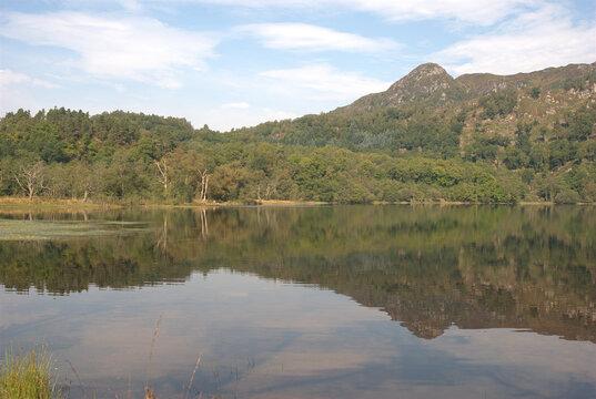 western end of Loch Achray in Trossachs
