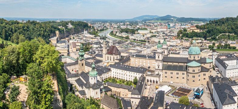 Salzburg Blick von der Festung