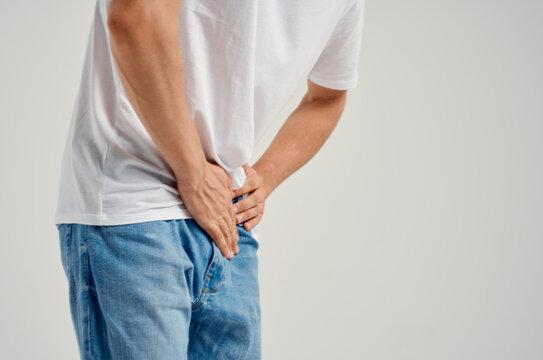groin pain health problems close-up urology