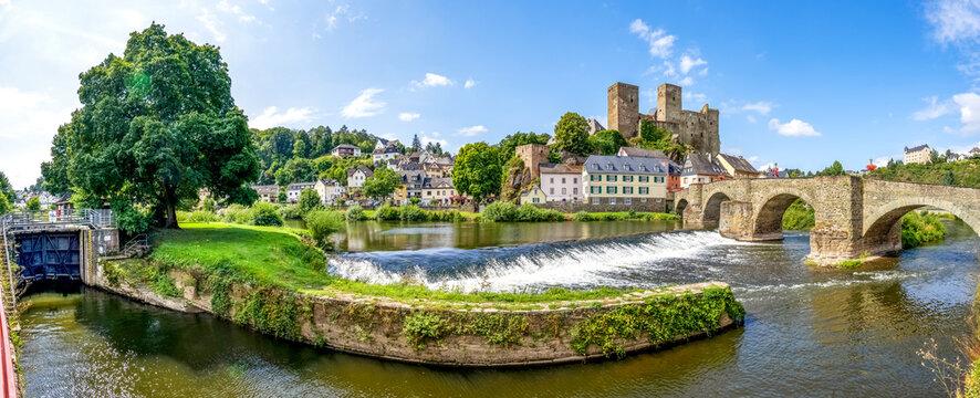 Burg Runkel, Hessen, Deutschland