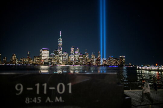The World Trade Center is pictured ahead of the 20th anniversary of the September 11 attacks