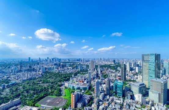 東京風景 9月