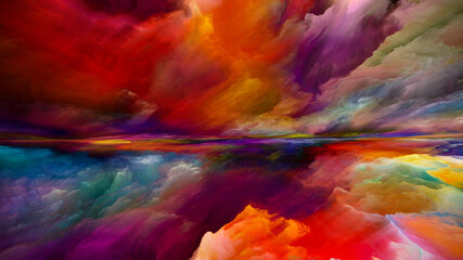 Obraz Energy of Dreamland - fototapety do salonu