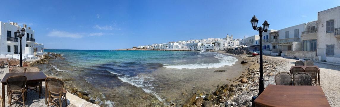 Naoussa waterfront, Paros Greece