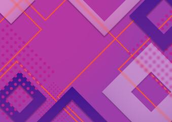 Abstrakcyjne fioletowe tło - żywe kolory i efekt szkła. Dynamiczna kompozycja, geometryczne tło na okładki, banery, ulotki, broszury, plakaty, strony, tapeta na blog lub social media story.