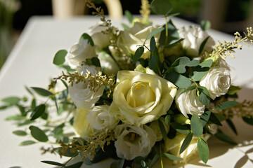Fototapeta Białe róże obraz