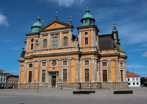 Old church in Kalmar Sweden