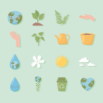 environmental ecology set