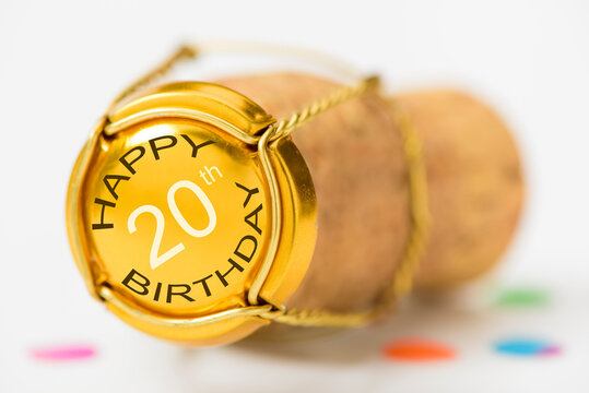 Happy congratulations to the 20th birthday