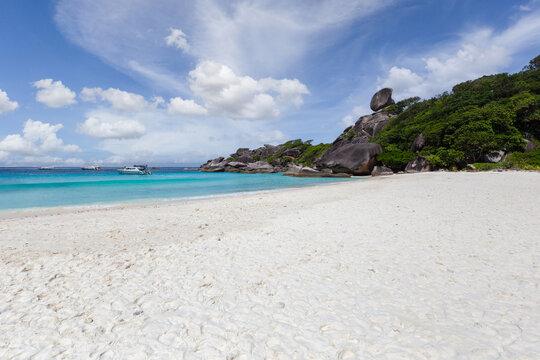 Beautiful nature of the islands in the Andaman Sea at Similan Islands, Mu Ko Similan National Park.