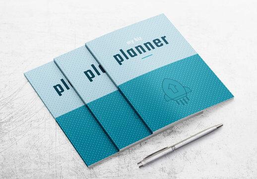 Minimal Business Planner Layout