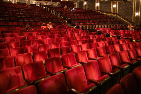Broadway shows begin to re-open to live audiences after being closed for more than a year due to the  outbreak of the coronavirus disease (COVID-19) in New York