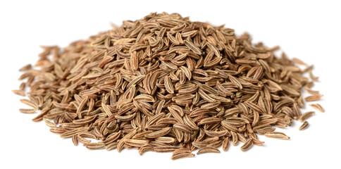 Fototapeta dried caraway seeds isolated on white obraz
