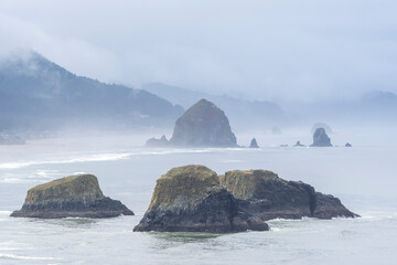 Morning View of the Oregon Coast