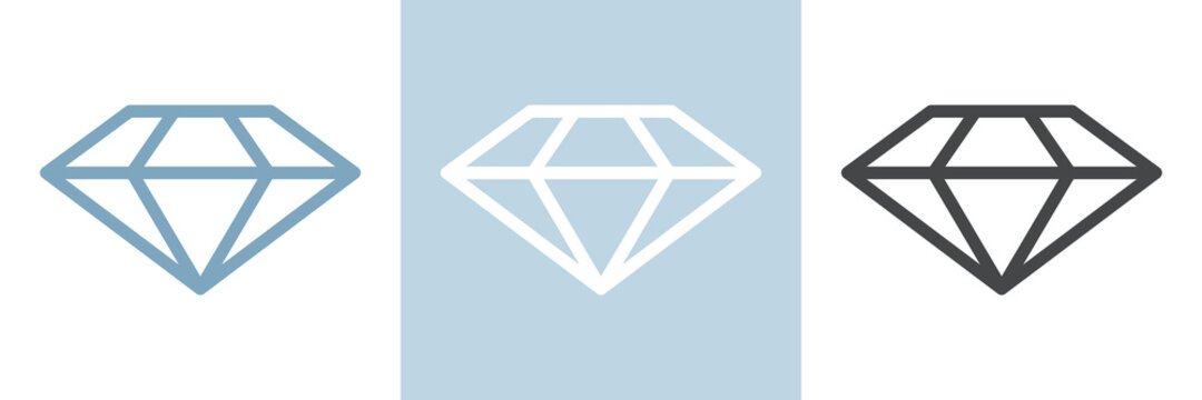Diamant / Brillant Vektor Logo